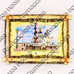 Часы Бамбук с видами, достопримечательностями или символикой Вашего города