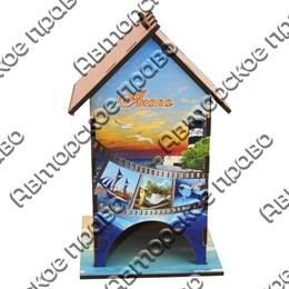 Чайный домик цветной Фотопленка с видами, достопримечательностями или символикой Вашего города