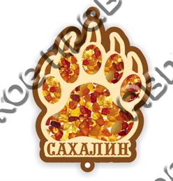 Подвеска в авто лапа медведя Сахалин 1