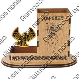 Карандашница малая Орел с символикой Вашего города