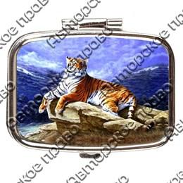 Таблетница прямоугольная Тигр вид 1