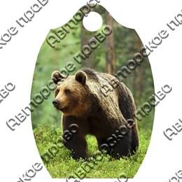 Доска со смолой Медведь вид 2