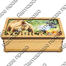 Купюрница вид 4 с Медведь с символикой Усинска