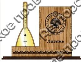 Карандашница большая с символикой Лагани вид 2