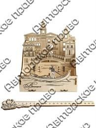 Органайзер из фанеры под канцелярию Венеция 1