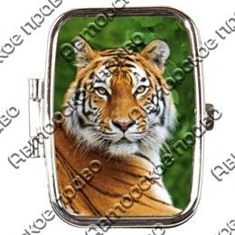 Таблетница прямоугольная Тигр вид 3