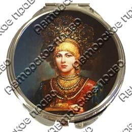 Зеркало серебро Красавицы вид 3