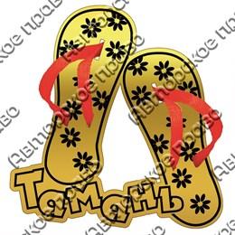 Магнит зеркальный Сланцы с символикой Тамани