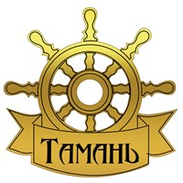 Магнит зеркальный Штурвал с символикой Тамани