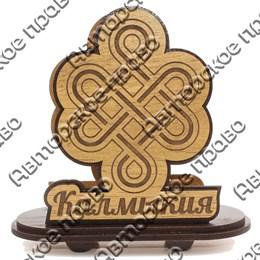 Салфетница Узел счастья с символикой Калмыкии