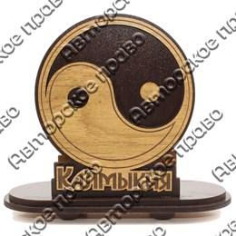 Салфетница Инь-Янь с символикой Калмыкии