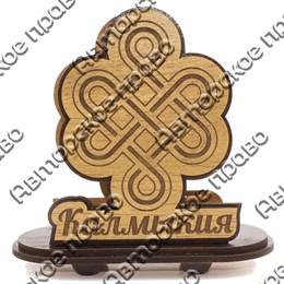Салфетница Узел счастья с символикой Вашего города