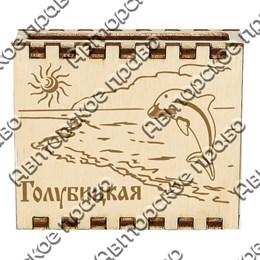 Спички с гравировкой на магните с символикой Голубицкой