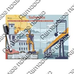 Магнитно - маркерный планер с видами, достопримечательностями или символикой Вашего города вид 4