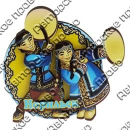 Сувенирный магнит Нанайцы с символикой Норильска