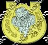 Магнит Подкова с комбинированным элементом Виноград - фото 36711
