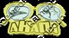 Магнит Очки с комбинированным элементом Линзы с дельфином - фото 36715