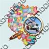 """Магнитик """"Карта с лупой"""" №3 Абзаково  - фото 5087"""