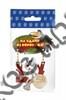 """Магнит качели № 18 """"Ворона и кот с зеркальной фурнитурой и логотипом Вашего города"""" - фото 53386"""