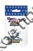 Магнит качели Отдыхающий с дельфином и зеркальной фурнитурой с символикой Вашего города вид 1 - фото 53403