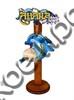 Магнит качели Логотип Вашего города с дельфином и зеркальной фурнитурой - фото 53409