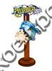 Магнит качели Логотип Вашего города с дельфином и зеркальной фурнитурой - фото 53413
