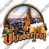 """Магнит 3-хслойный №13 с логотипом """"Oktoberfest"""" арт 2570 - фото 53529"""