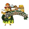 "Магнит 3-хслойный девушка с кружками с логотипом ""Oktoberfest"" артикул 2578 - фото 53536"