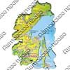 Магнит 1-слойный Карта Вашего края, региона или области - фото 53735