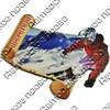 Магнит 1-слойный Свиток с видами Вашего горнолыжного курорта - фото 53772