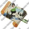Магнит 1-слойный Свиток с видами Вашего горнолыжного курорта - фото 53773