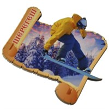 Магнит 1-слойный Свиток с видами Вашего горнолыжного курорта - фото 53774