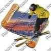 Магнит 1-слойный Свиток с видами Вашего горнолыжного курорта - фото 53775