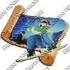Магнит 1-слойный Свиток с видами Вашего горнолыжного курорта - фото 53776