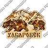 "Магнит с янтарем ""Медведи"" №1 с символикой Вашего города - фото 54352"