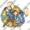 Магнитик 2-хслойный Коренные народы севера вид 11 с символикой Вашего города - фото 54509