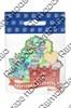 Магнит 1-слойный Карта Вашего региона на ленте с достопримечательностями Вашего города - фото 55151