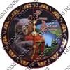 Часы 1-слойные вид 2 с символами Вашего города - фото 55333