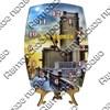 Часы бочка Вид 2 с достопримечательностями Вашего города - фото 55354