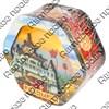 Шкатулка 6-тиугольная №2 покрытие голограмма с достопримечательностями Вашего города - фото 56208