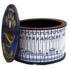 Шкатулка круглая с ламинированным покрытием с символикой Вашего города - фото 56227