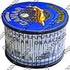 Шкатулка круглая с ламинированным покрытием с символикой Вашего города - фото 56228