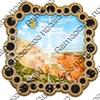 Шкатулка квадратная резная вид 2 с видами, достопримечательностями или символикой вашего города - фото 56355