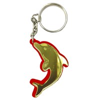 Брелок зеркальный на цветной подложке Дельфин Вид 1 - фото 57441