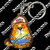 Брелок Морской котик с логотипом Вашего города - фото 57763