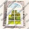 Блокнот А6 цветной Окно 50 листов - фото 58050