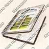 Блокнот А6 цветной Окно 50 листов - фото 58052