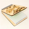 Магнит - блокнот А7 с гравировкой Дельфин 50 листов - фото 58074