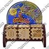 Вечный календарь цветной Капитан с картой Вашего региона, края или области - фото 58109
