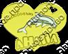 Магнитик зеркальный комбинированный сердце с дельфином и символикой Вашего города - фото 65008